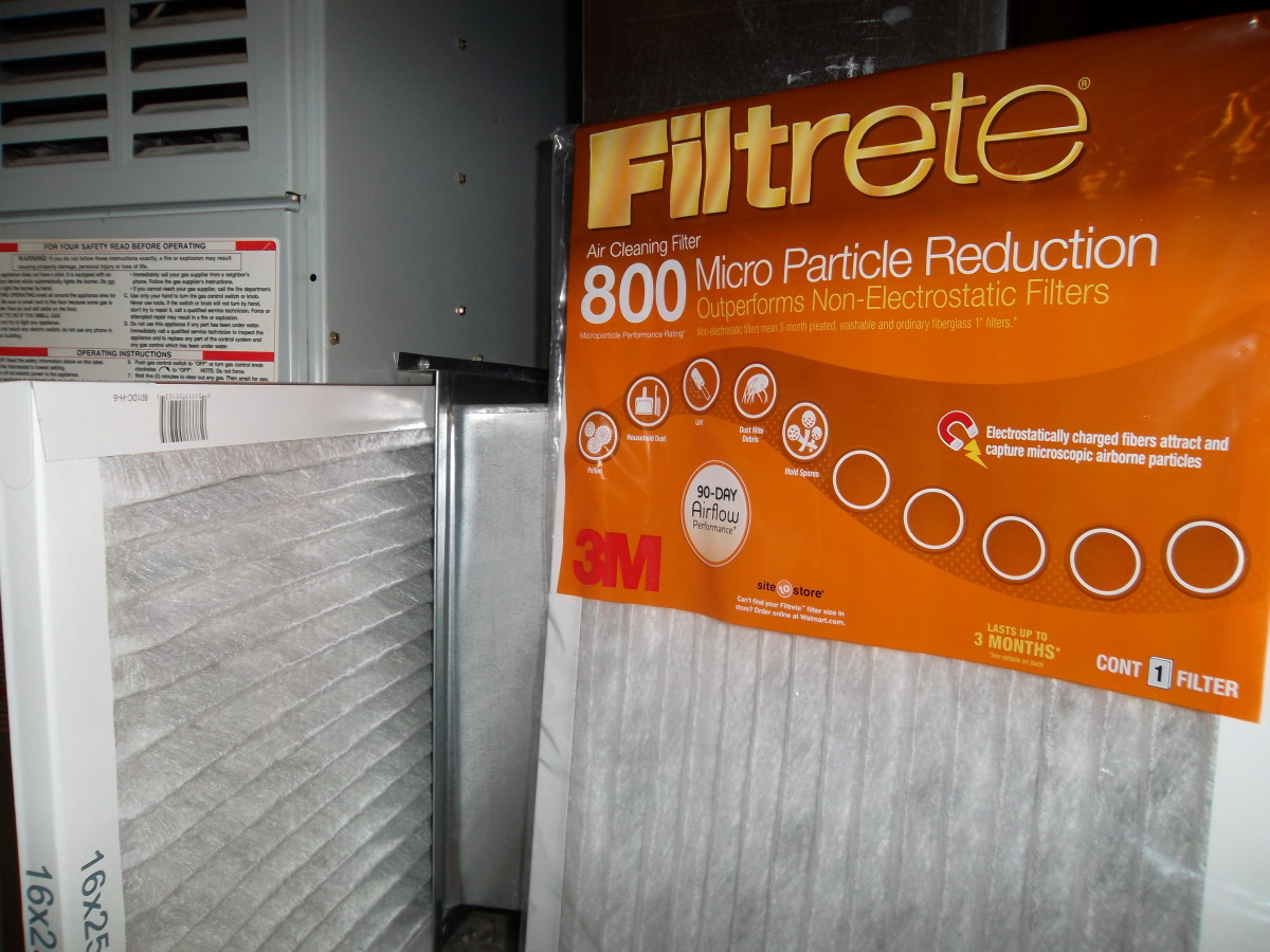 Remove dirty filters regularly to ensure proper airflow to air conditioner.
