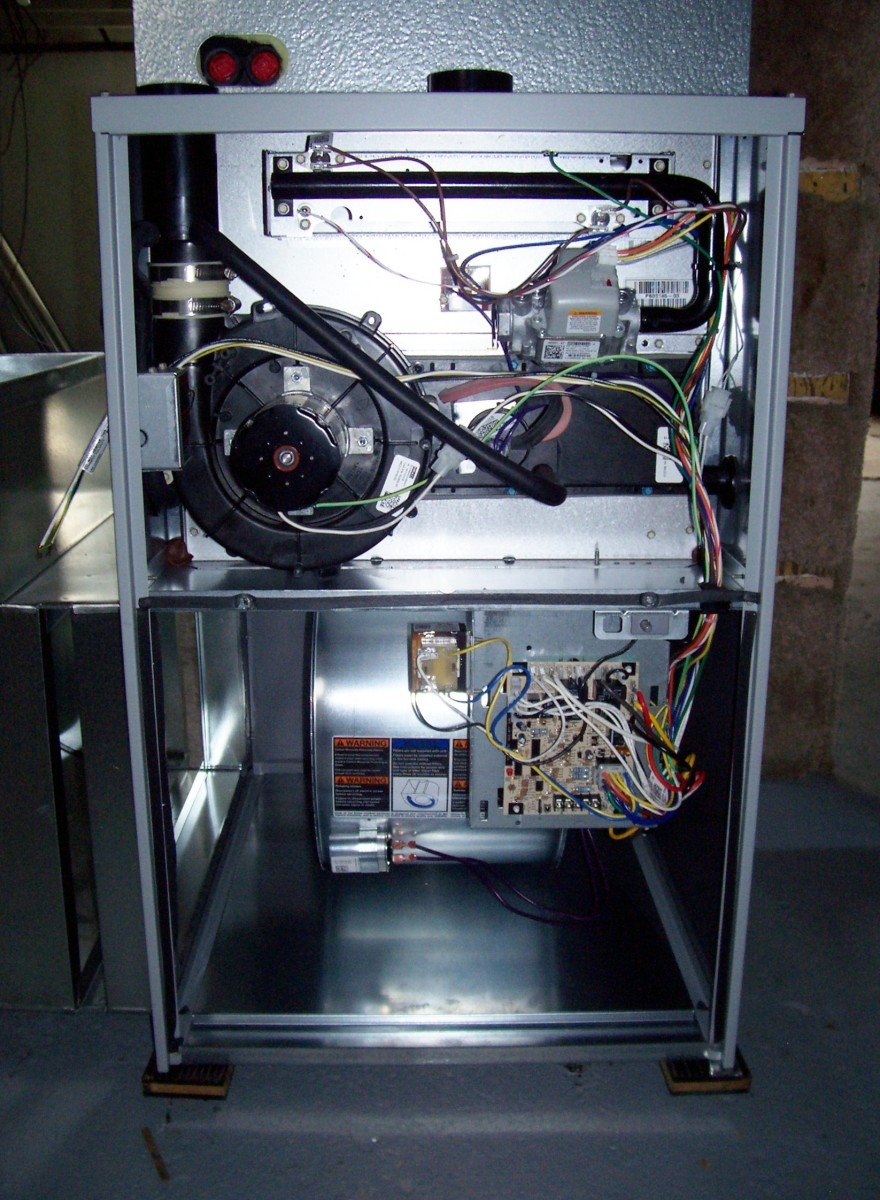 This is what the inside of your furnace looks like or similar.