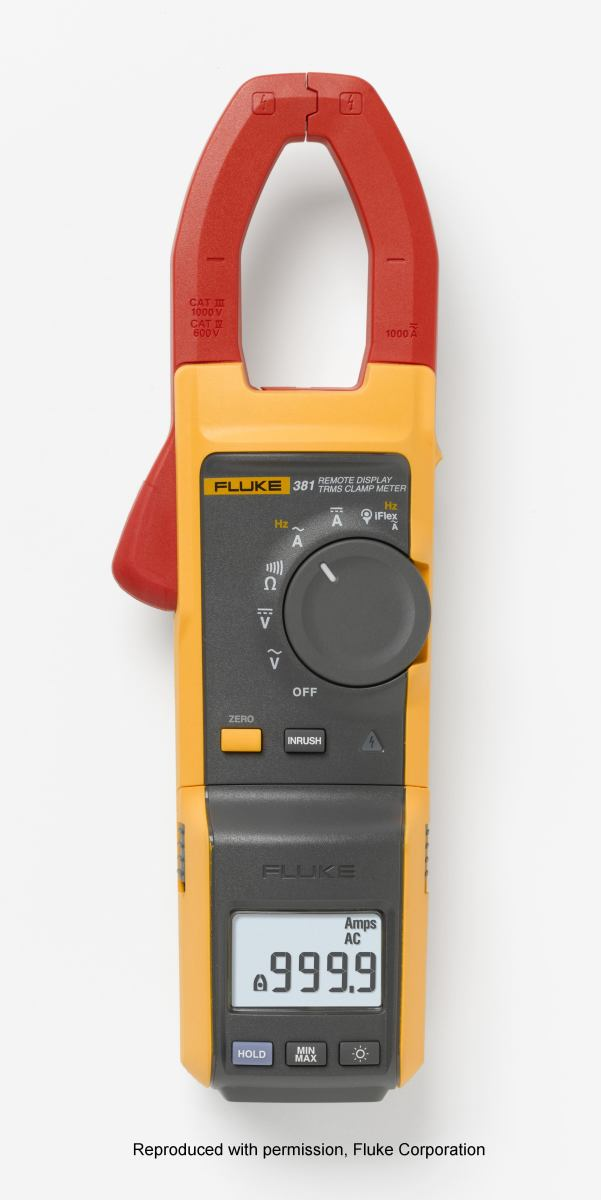 Fluke 381 True RMS AC/DC clamp meter