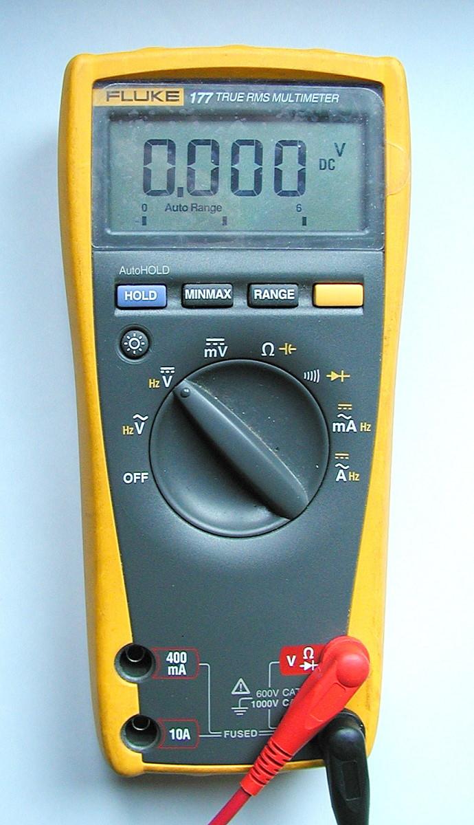 Farad Symbol On Multimeter : How to use a digital multimeter dmm measure voltage