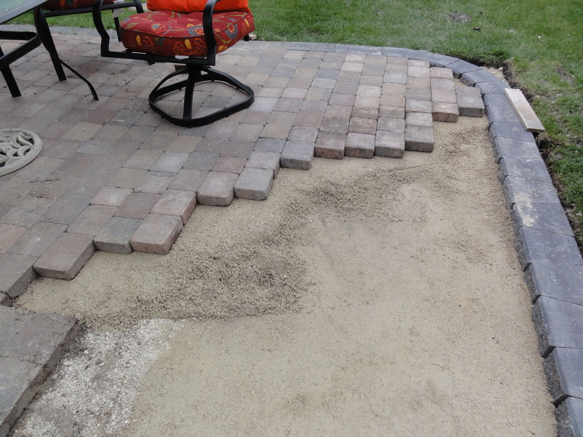 How To Build A Patio With Paving Stones Hubpages