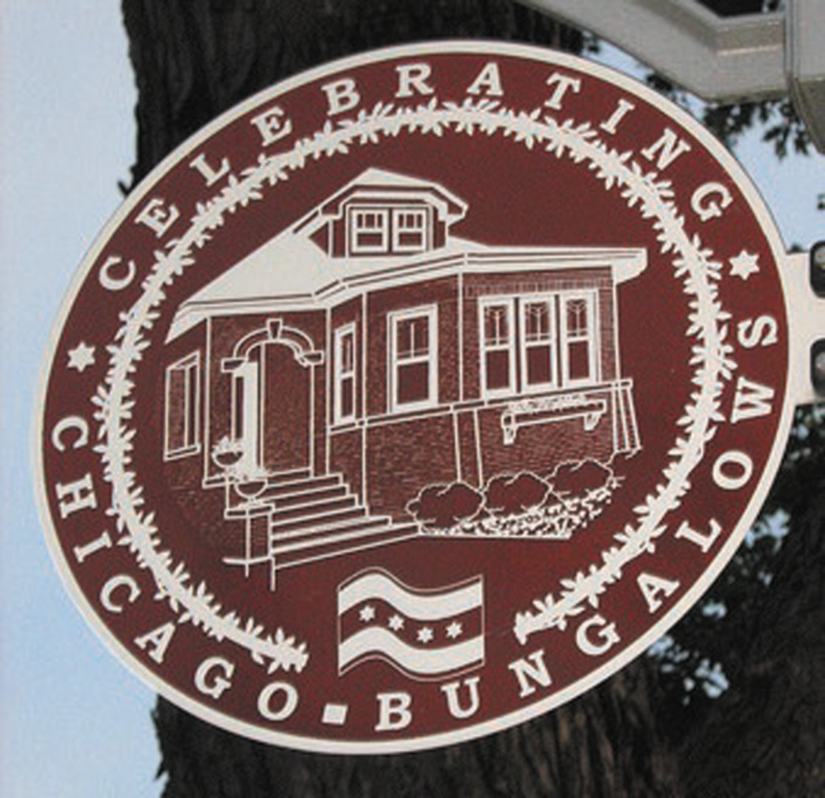 The red brick bungalow is a symbol of Chicago.