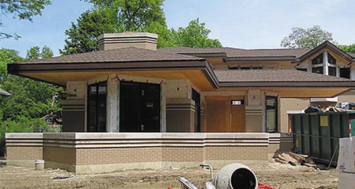 Prairie-style new construction