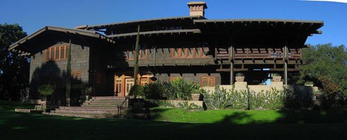 The Gamble House, Pasadena, California