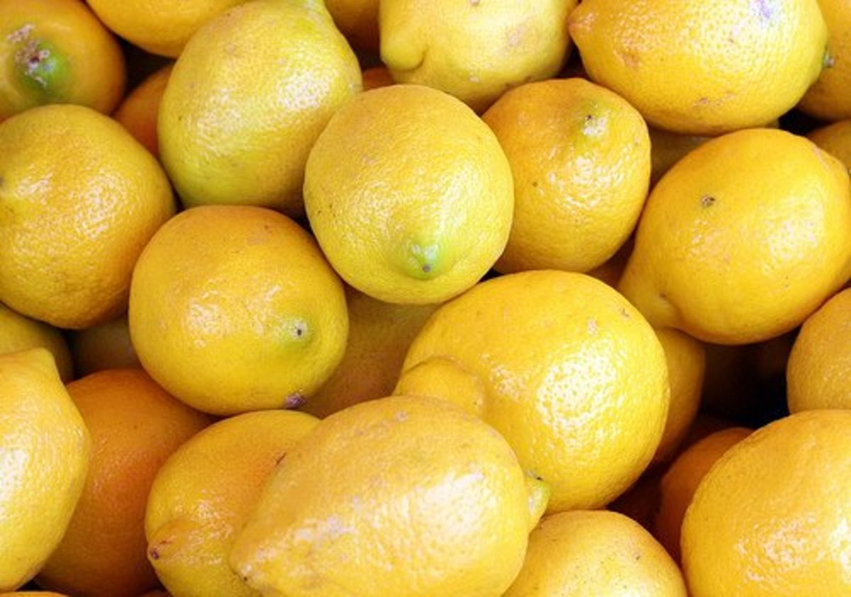 Lemons are a fish-lover's friend.