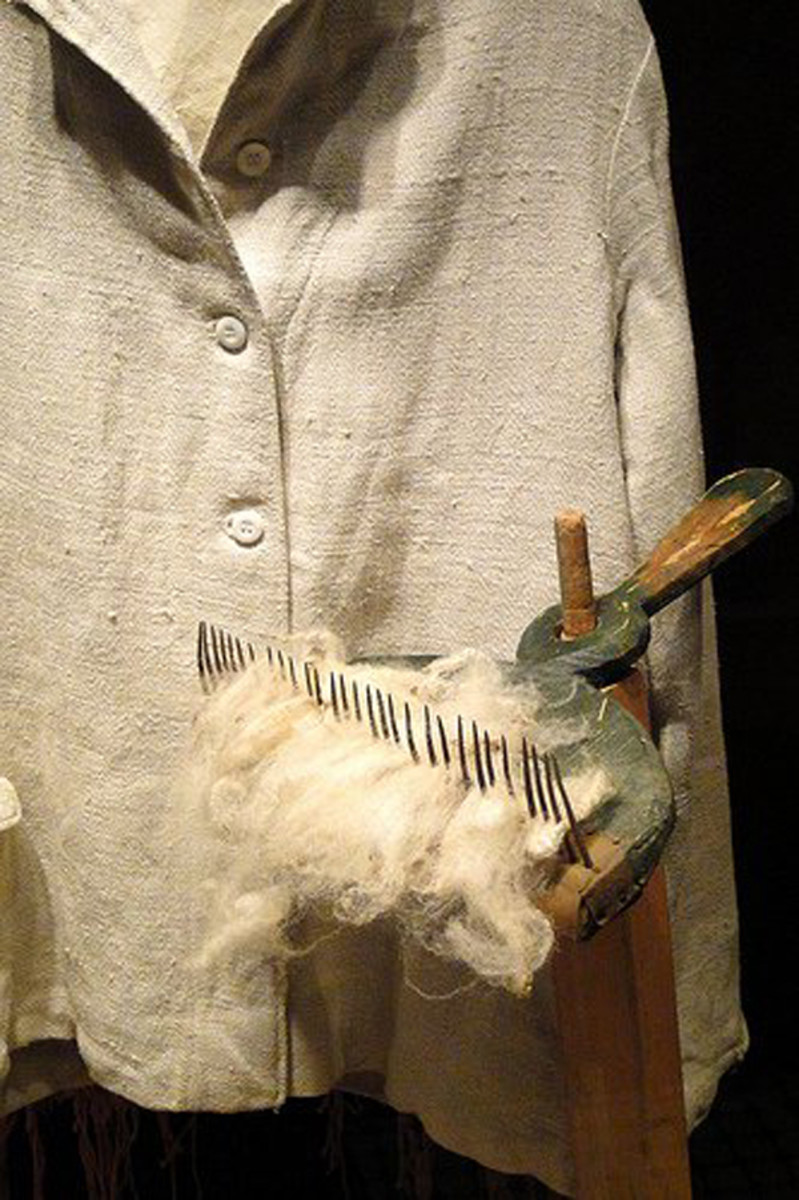 Linen clothes are made from breathable flax fibers.