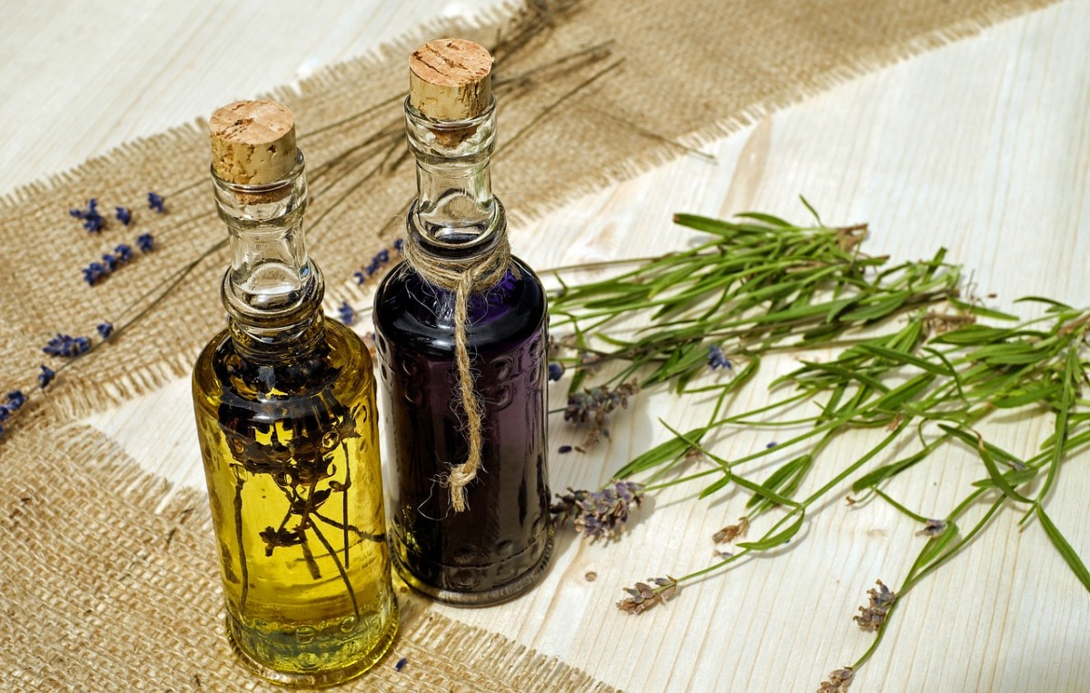 Dried lavender, or lavender oil, can help keep the flies at bay.