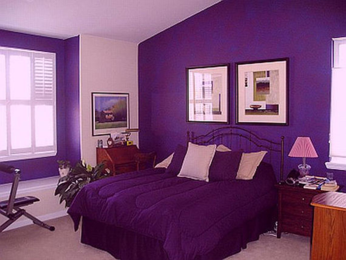 This is a great way to use it if you are a purple lover and you are not afraid to flaunt it.