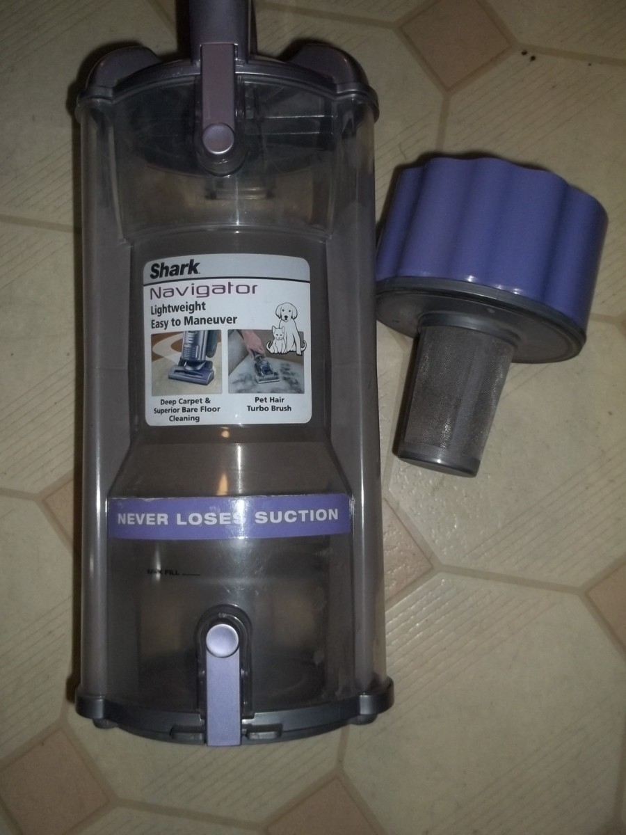 How To Clean The Shark Navigator Vacuum And Filters
