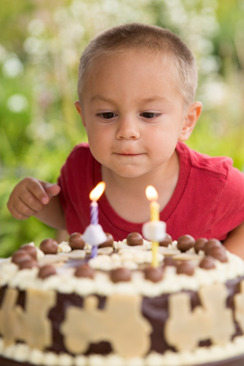 Blowing candles out is a popular method, especially on someone's birthday!