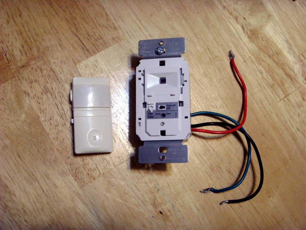 how to install a motion sensor light switch. Black Bedroom Furniture Sets. Home Design Ideas