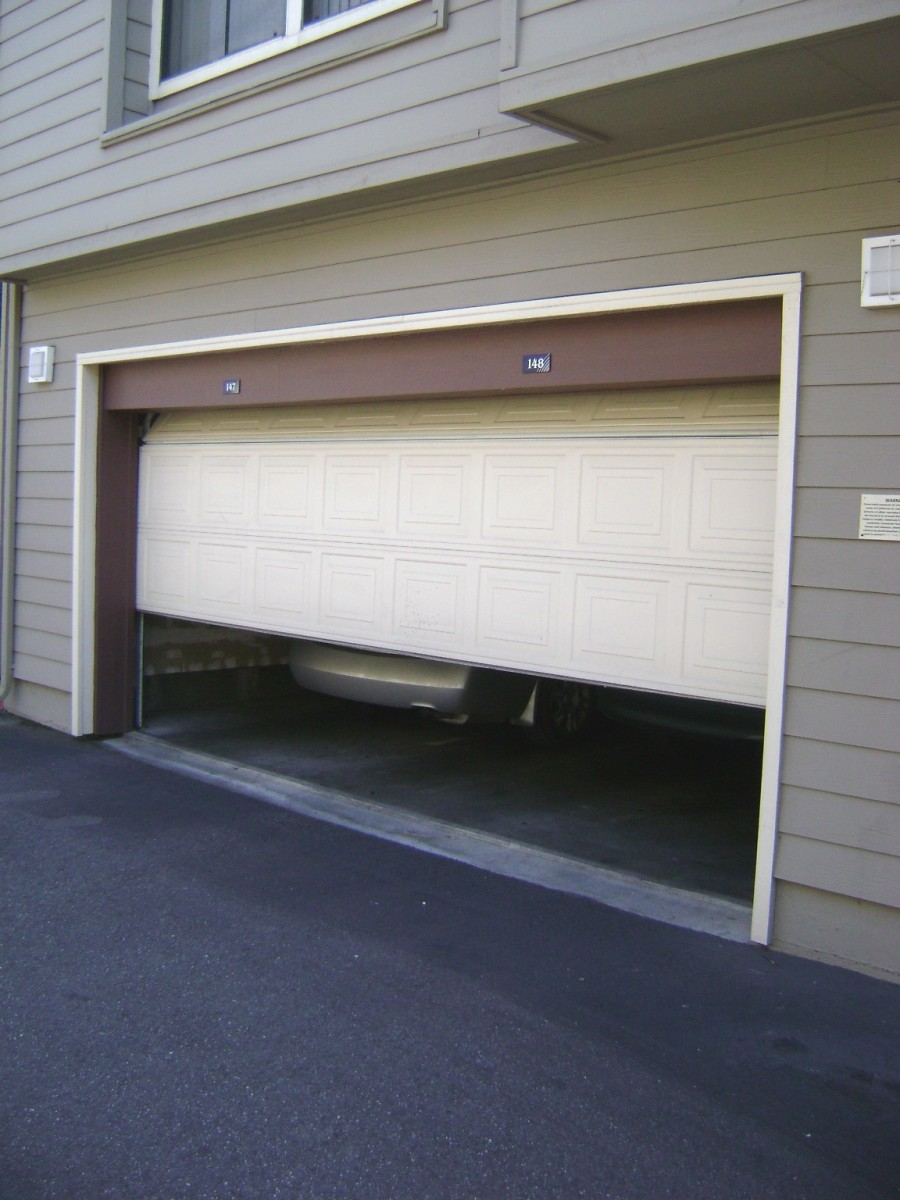 garage door opens halfwaySecurity Tips For In and Around Your Home  Dengarden