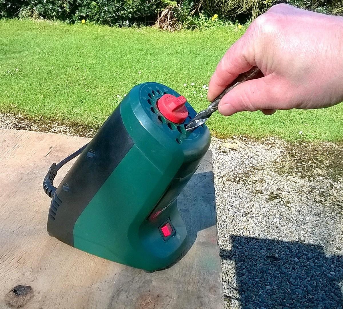 Drill sharpener