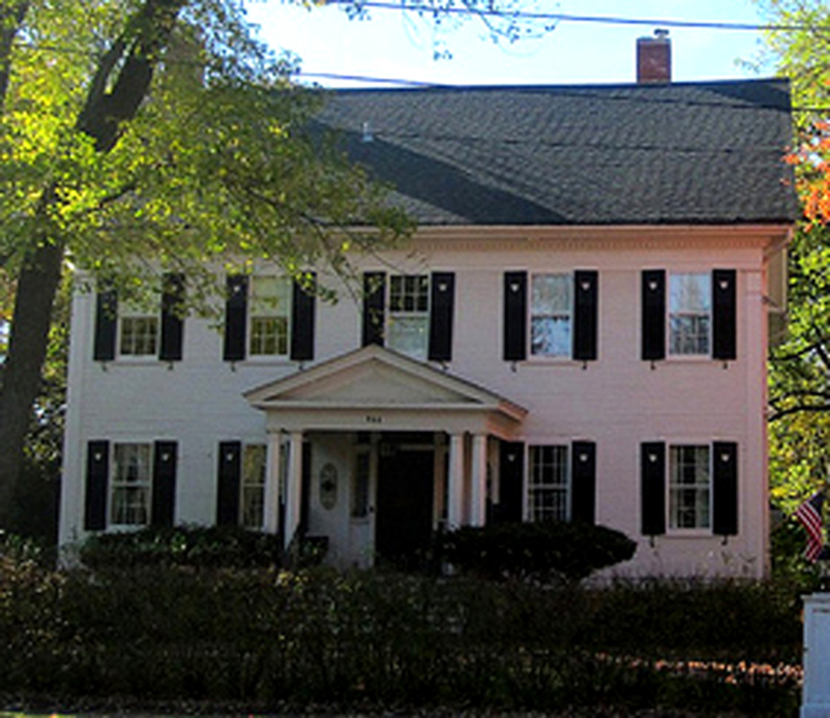 Large Colonial Revival Home c. 1890.