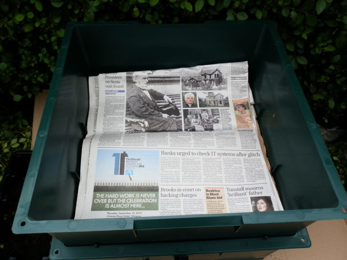 adding newspaper to the base