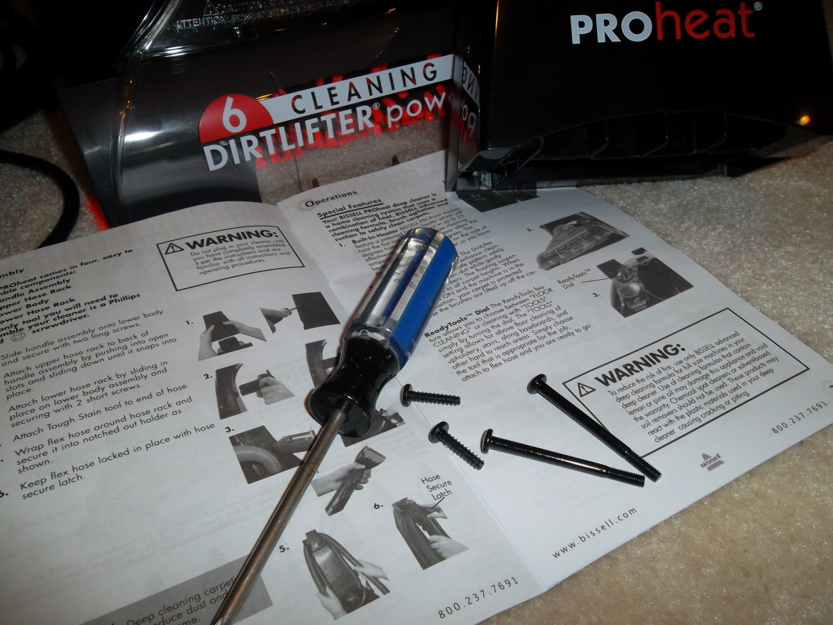 The only tool needed for assembly is a screwdriver.