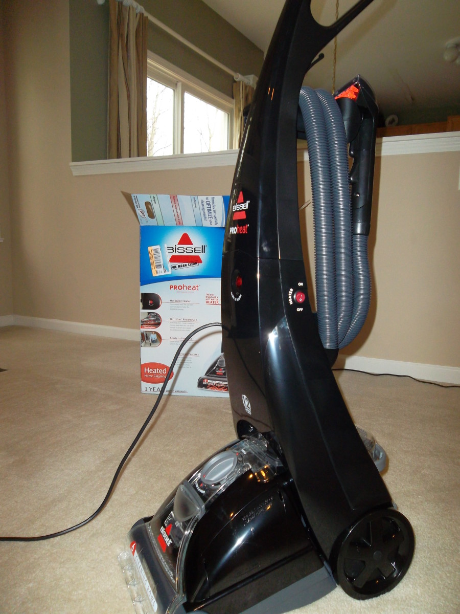 Bissell PROheat deep cleaner