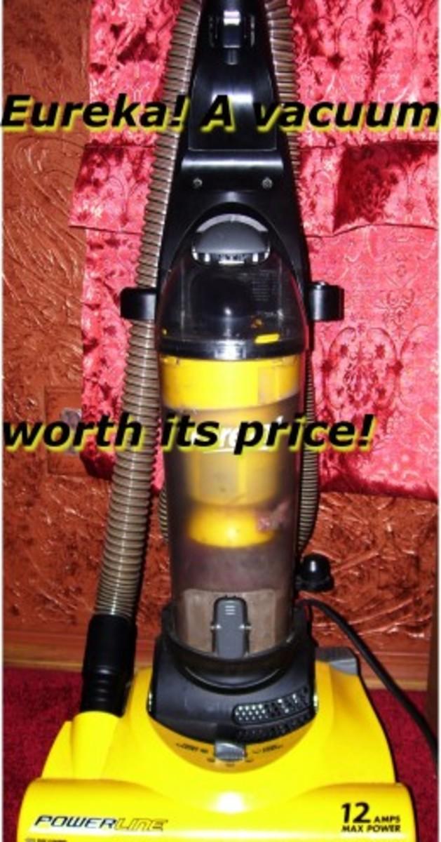 Eureka Powerline Vacuum Cleaner Review