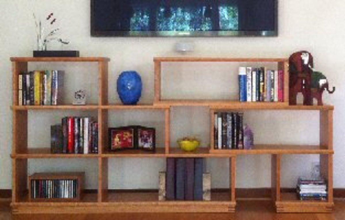 Instructables Modular Bookshelf DIY