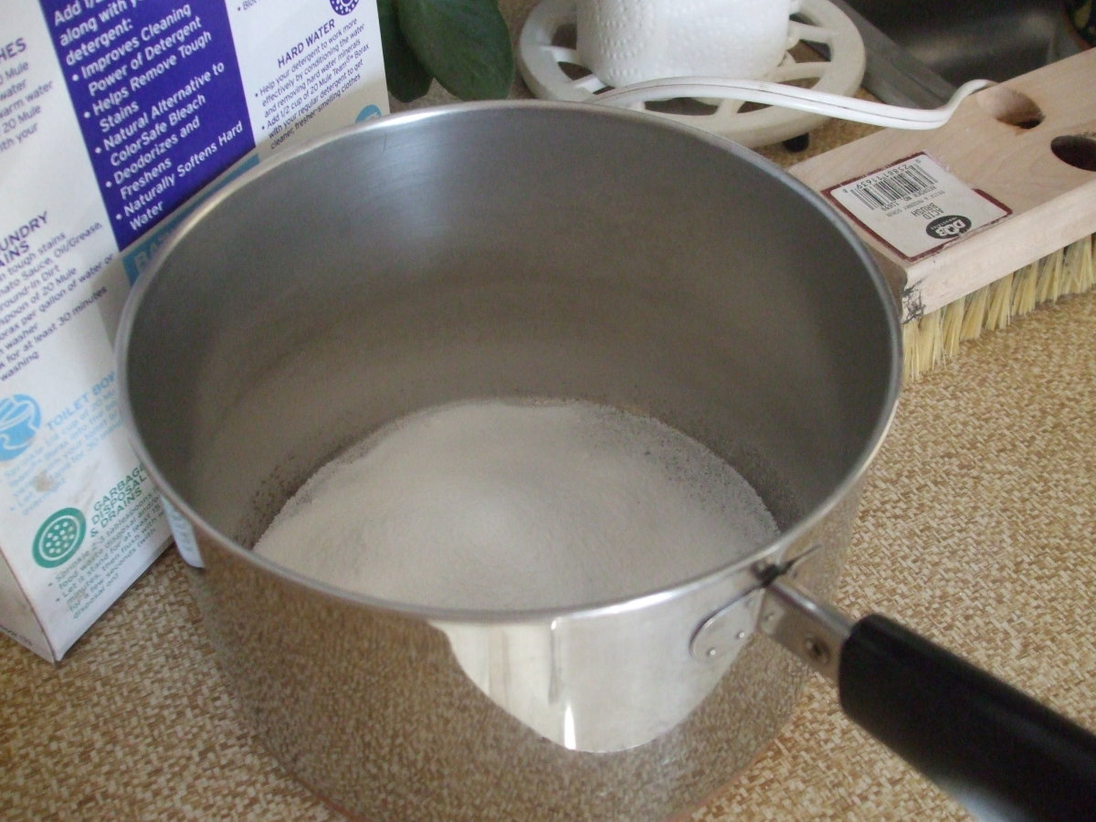 Preparing Borax Mixture