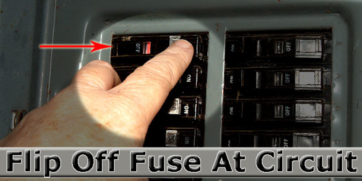 First, turn off the power to the switch you will be replacing.