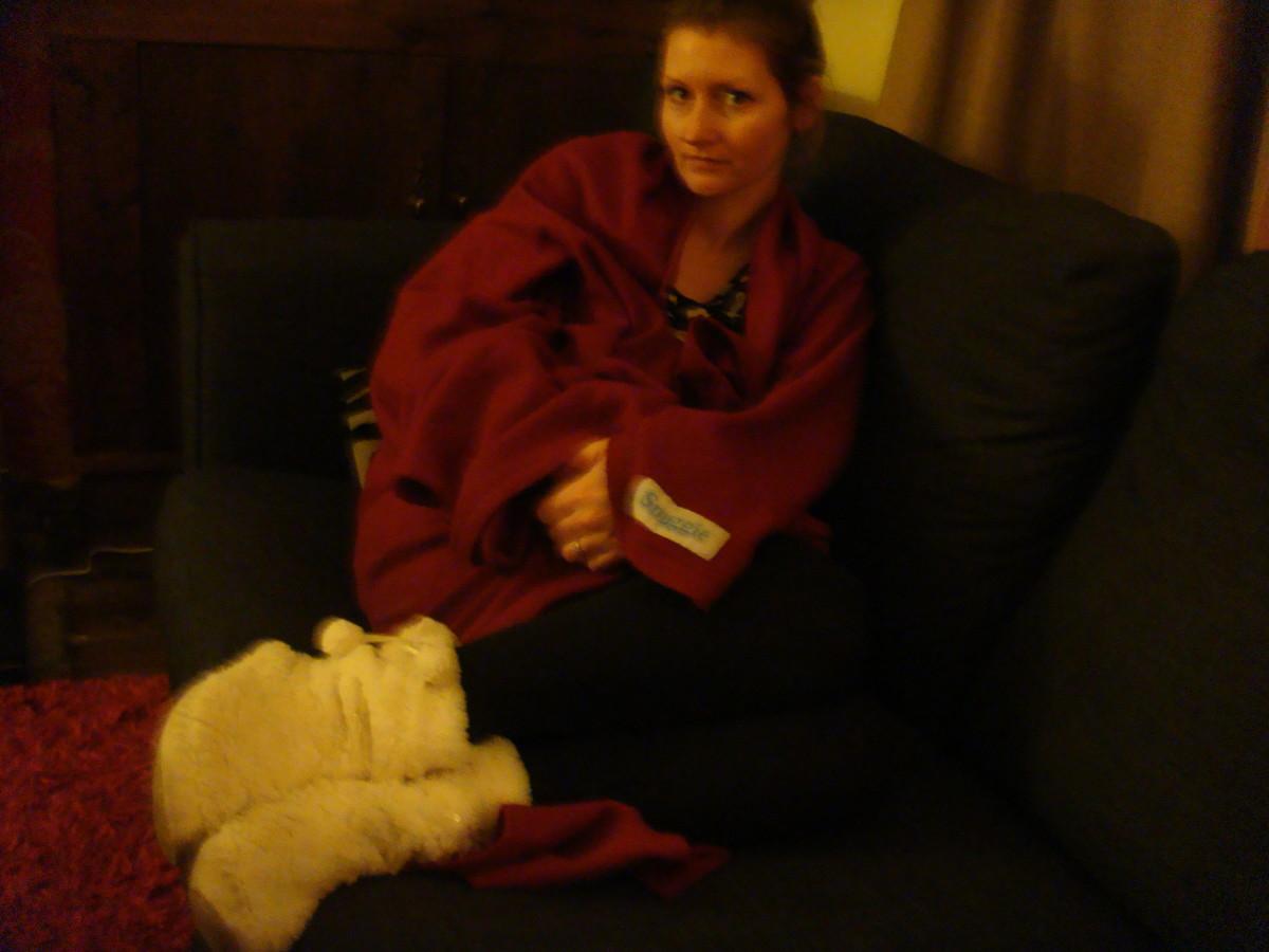 Snuggle in a Snuggie!