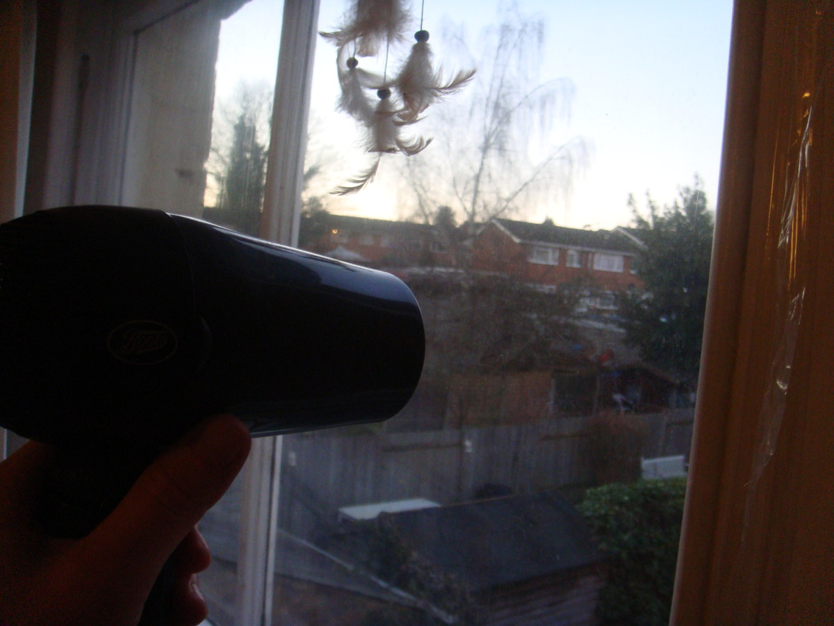 Secondary glazing film