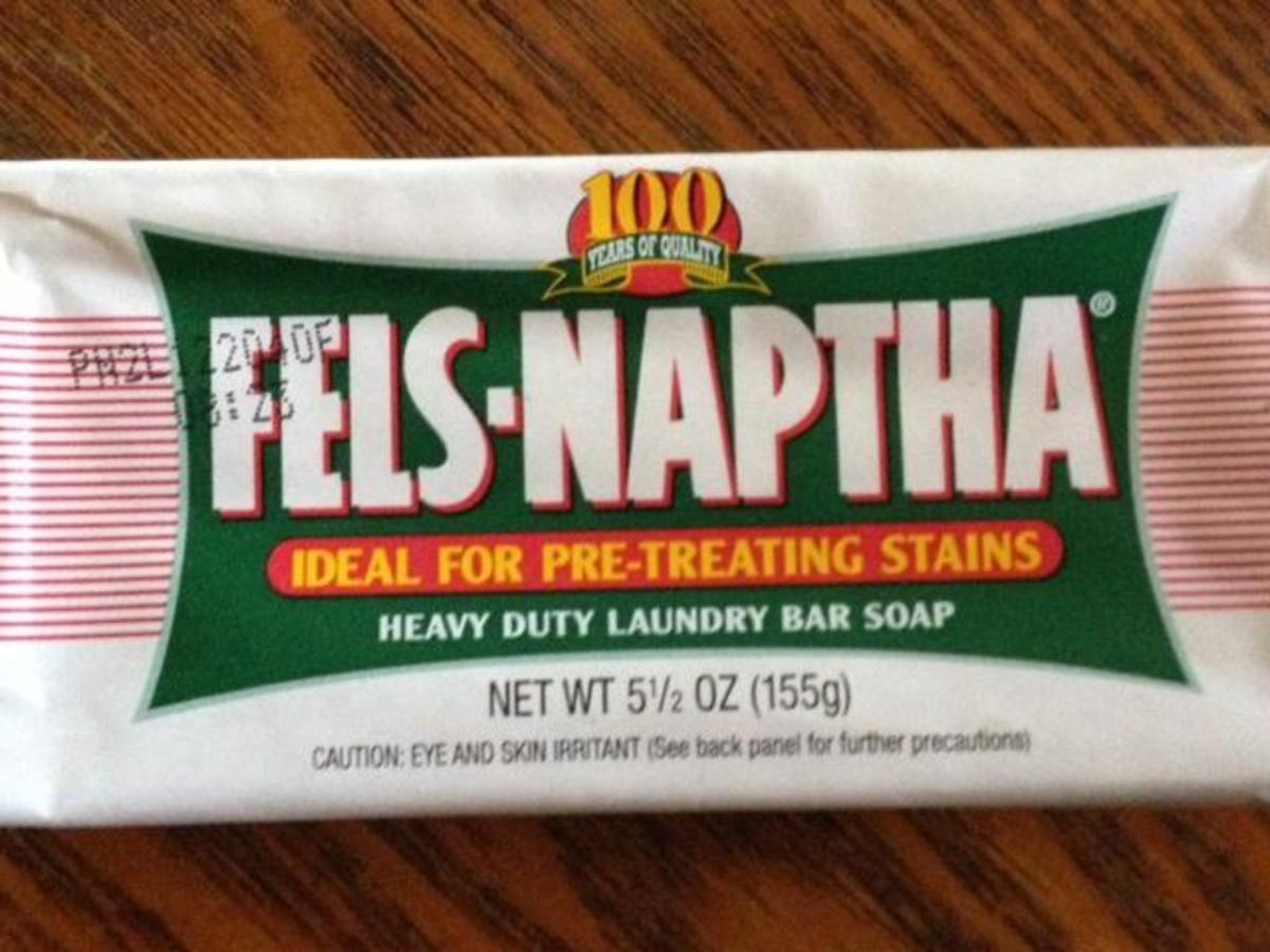 Fels-Naptha Laundry Bar Soap usually sells for $1.00 per bar and each bar makes 1 batch.  Ivory bar soap can also be used instead at a cost of approximately 33 cents per bar, 1 bar to a batch.  Zote is another soap that can be used for $1.00 per bar.