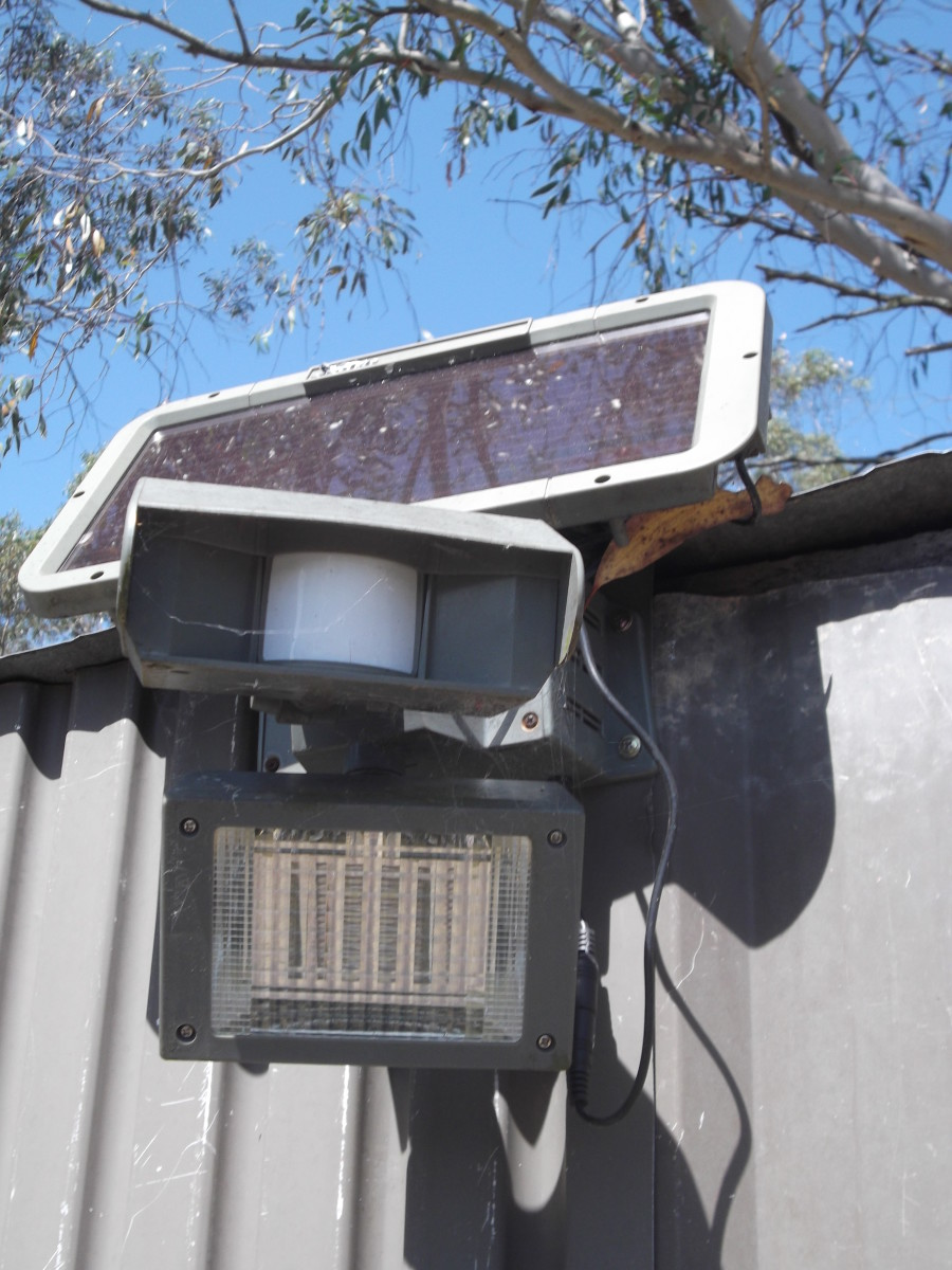 After years of rain, hail, sunshine, howling winds and neglect, our outdoor motion detector spotlights are still reliable. We bought them very cheaply on ebay not really  confident they would work at all.