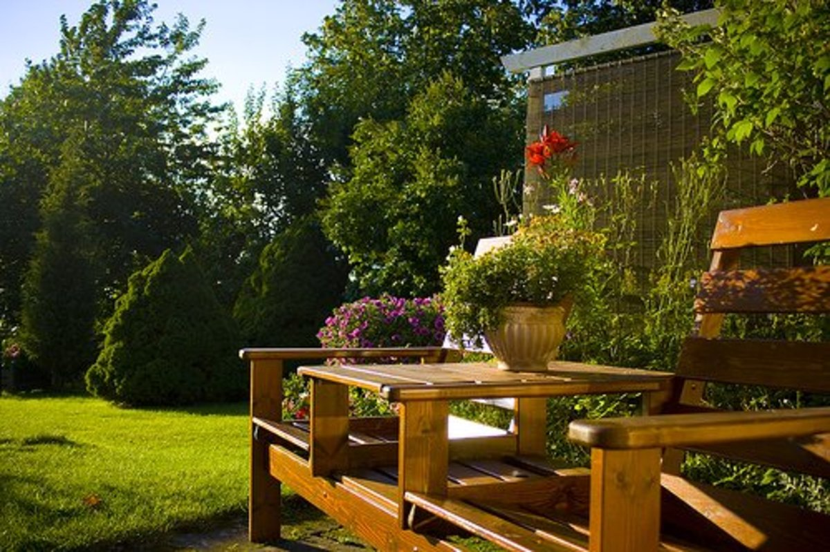 Don't forget the outdoors when you are remodeling or renovating.  Gardens, porches, patios and decks add great value to the usability of all of your space.