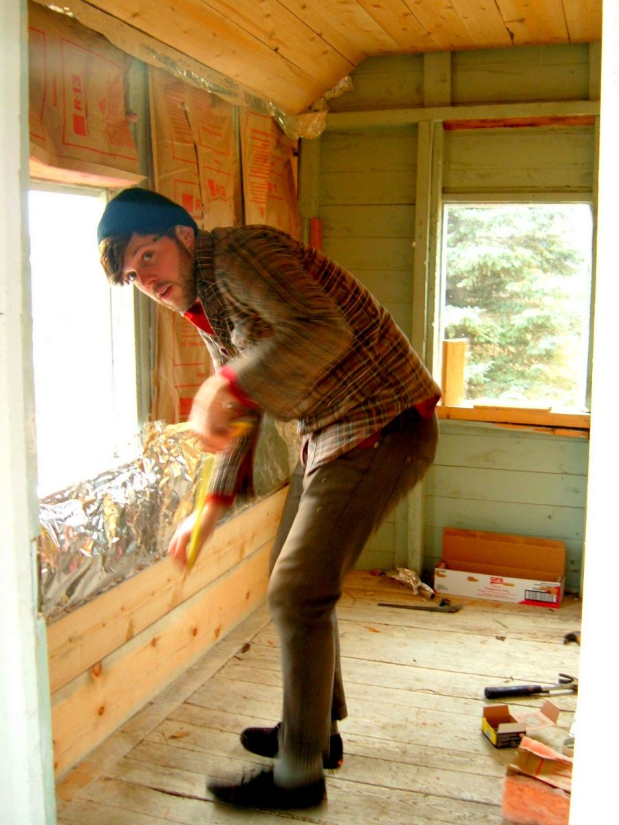 How to Build a Sauna Out of a Shed
