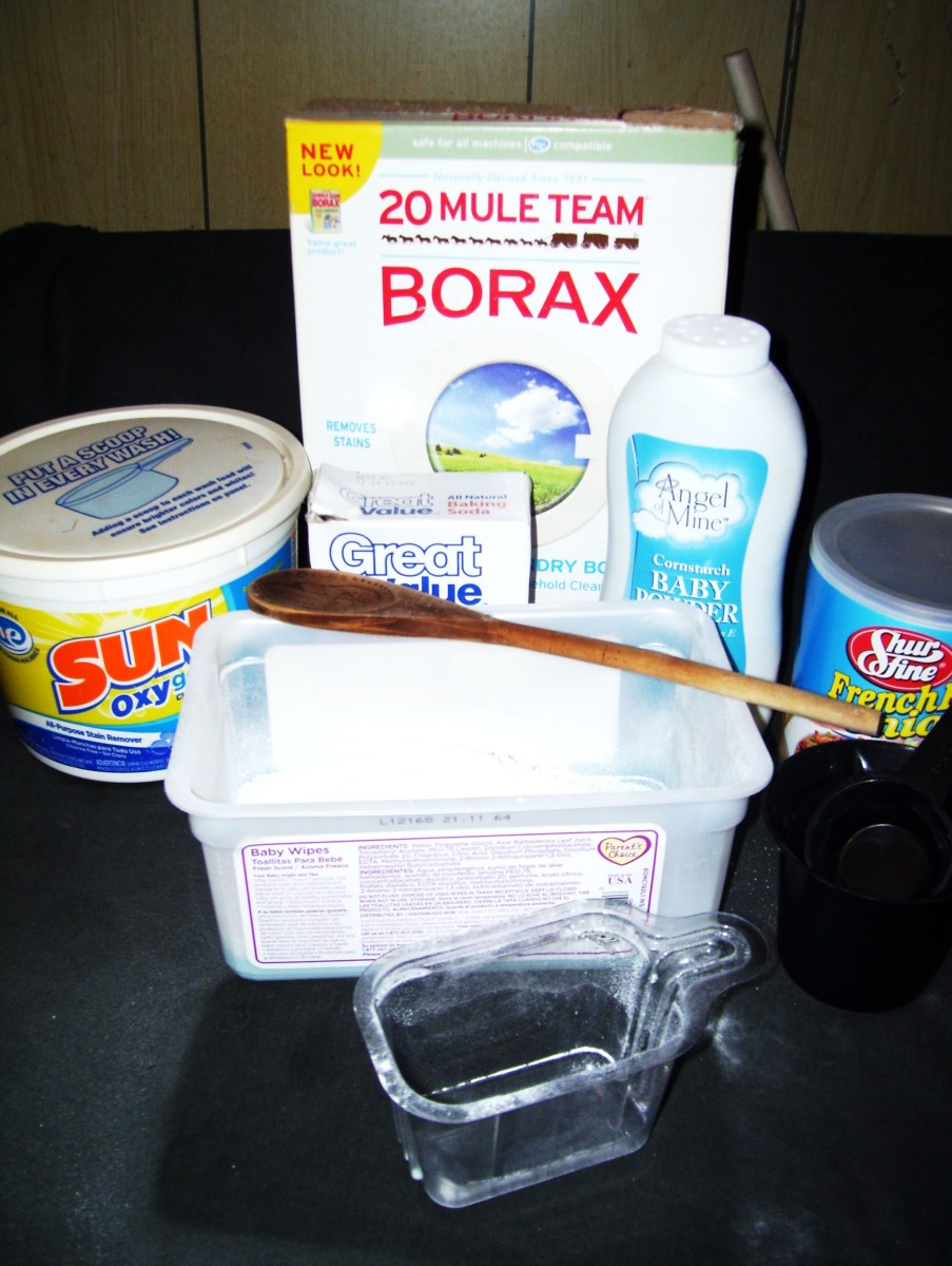 Ingredients for home made carpet deodorizer are probably already in your kitchen and laundry room.