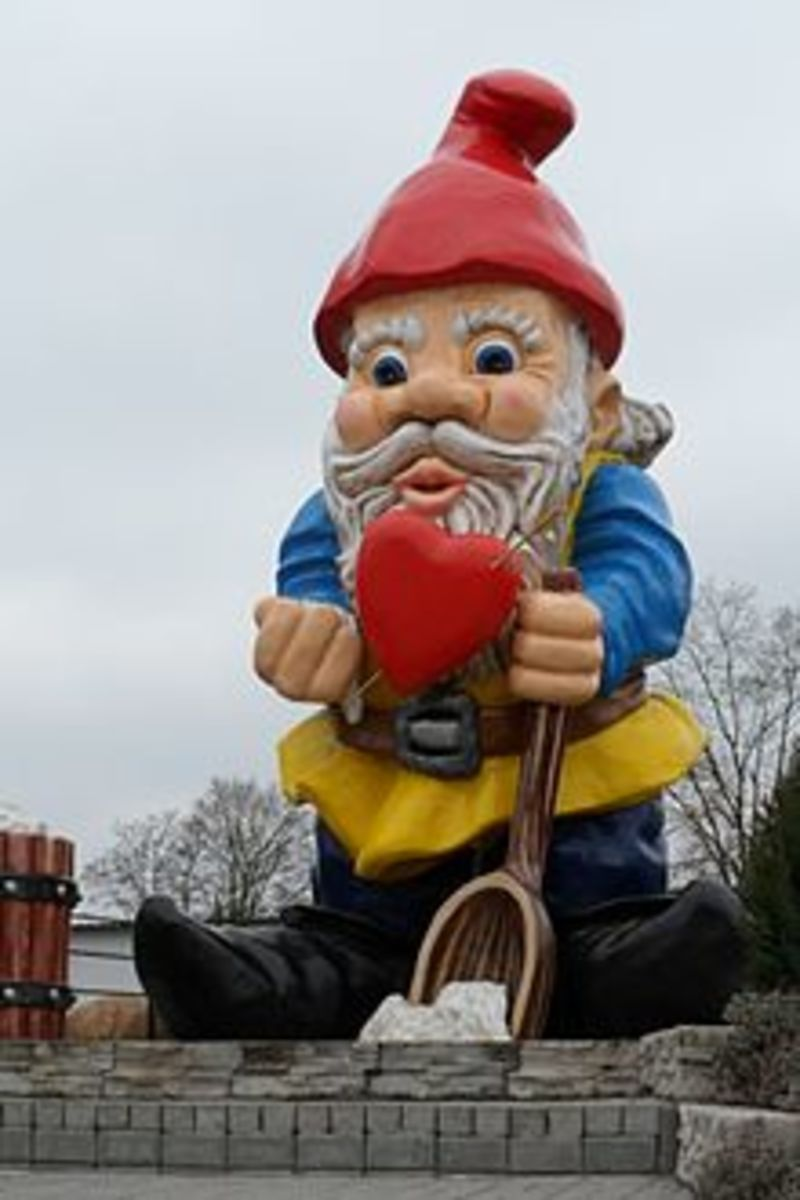 The biggest garden gnome of the World from Poland