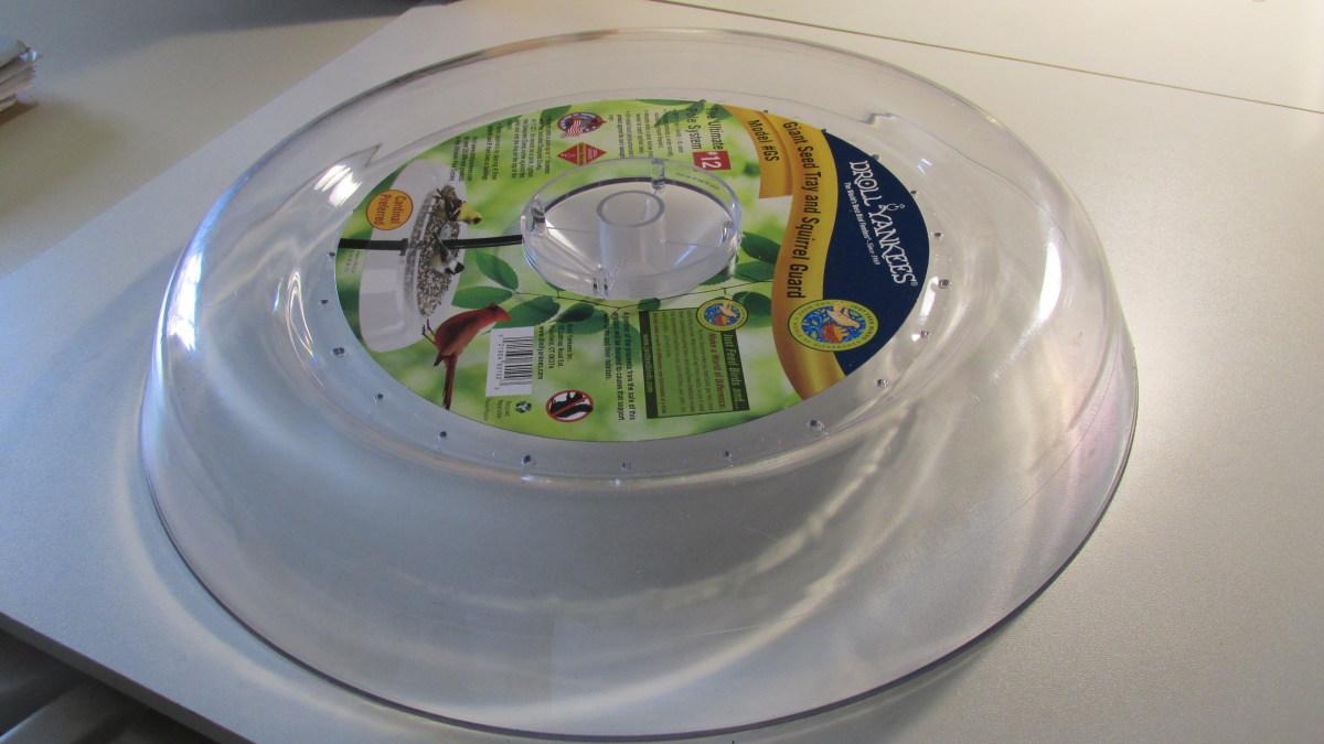 seed catcher tray/squirrel baffle