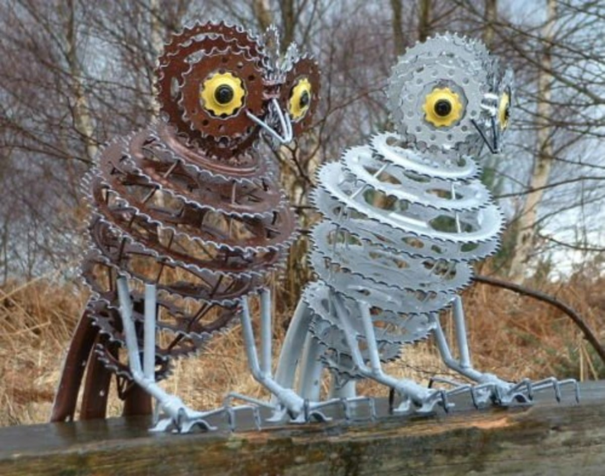 """Painted Owls"" by Daren Greenhow"