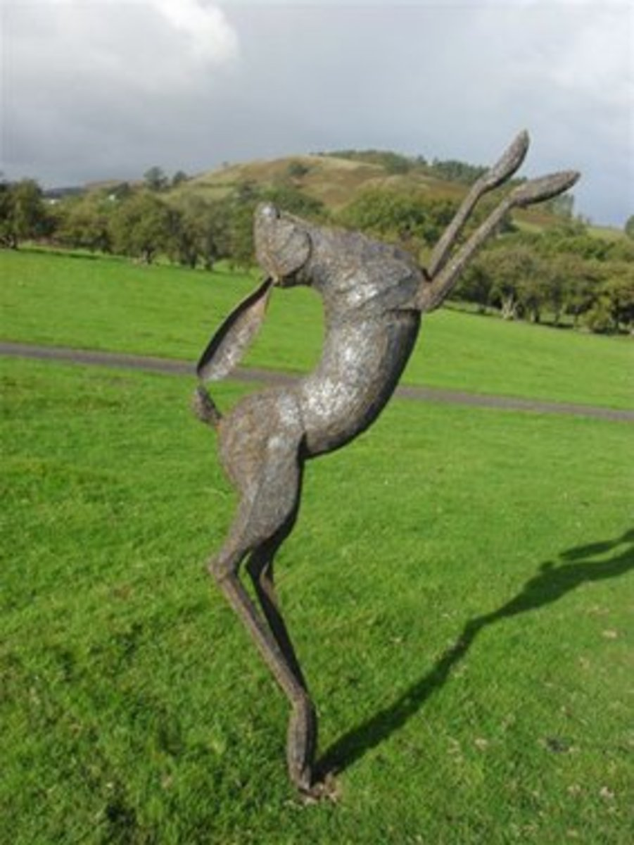 """Hare"" by Miranda Michels"