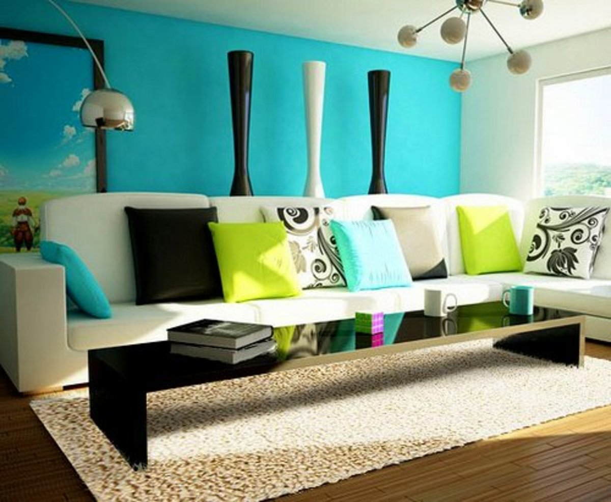 In feng shui, the use of certain colors in certain ways can help foster positive energies.