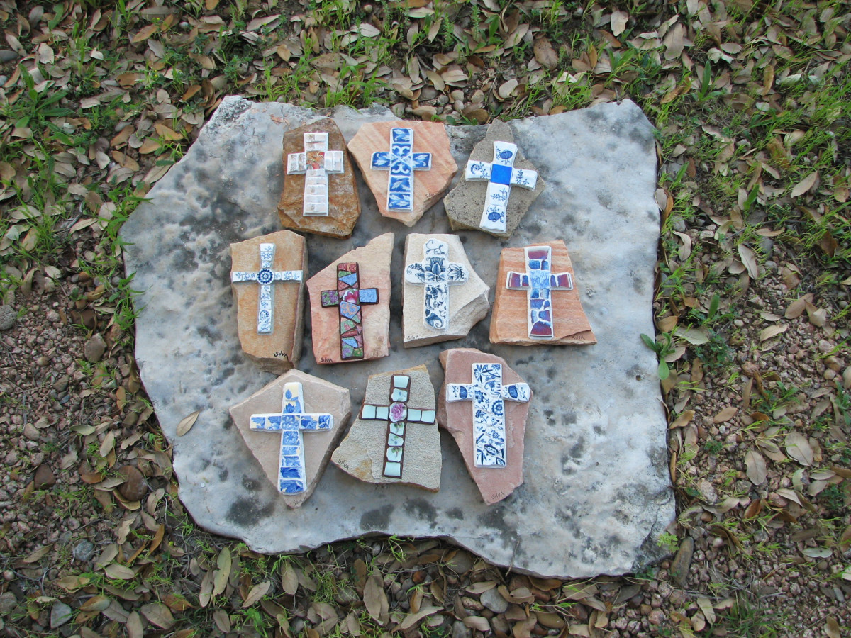 Ten new crosses, ready to ship