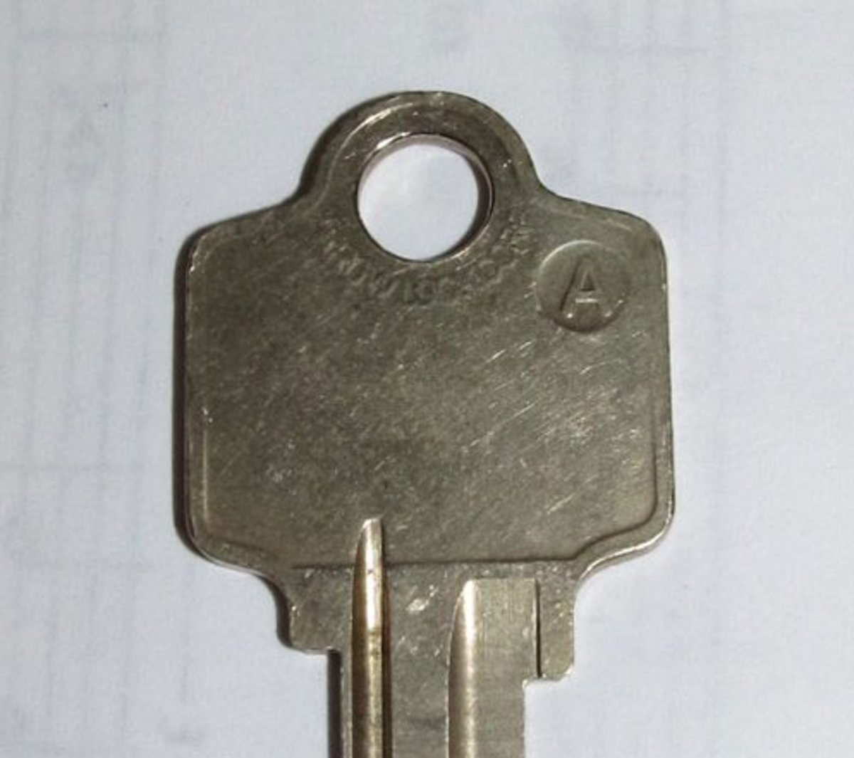 Figure 6 - An Arrow Lock Company Original Key Blank