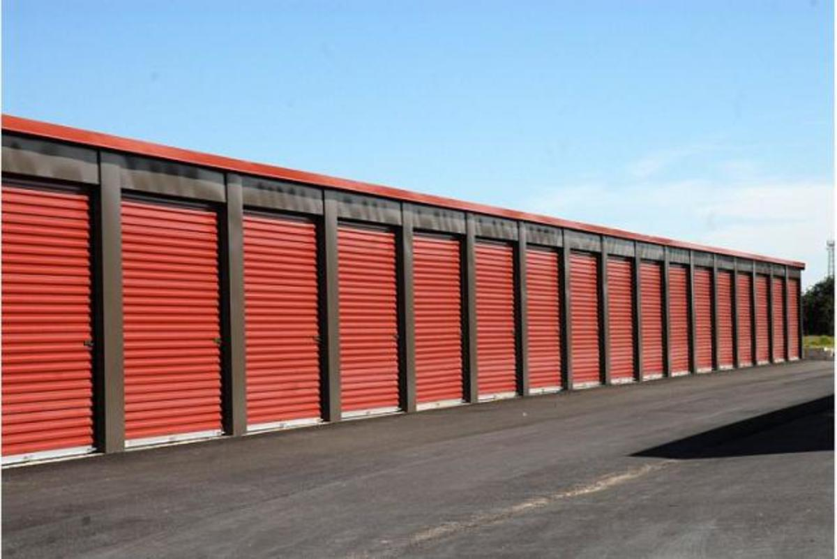 Tip: Don't rent a storage unit without looking around to make sure you feel comfortable leaving your property there.