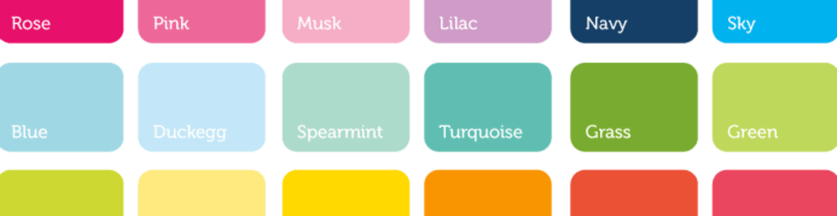 Use a colour palette to help you choose your cushions