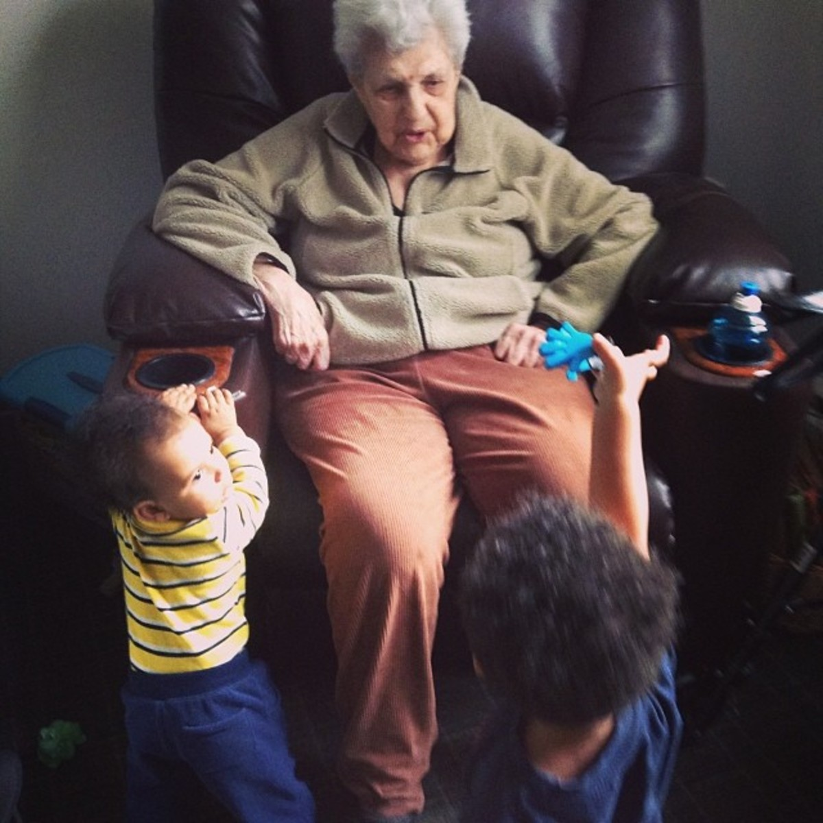 Being close to family, especially great-grandma, is a must.