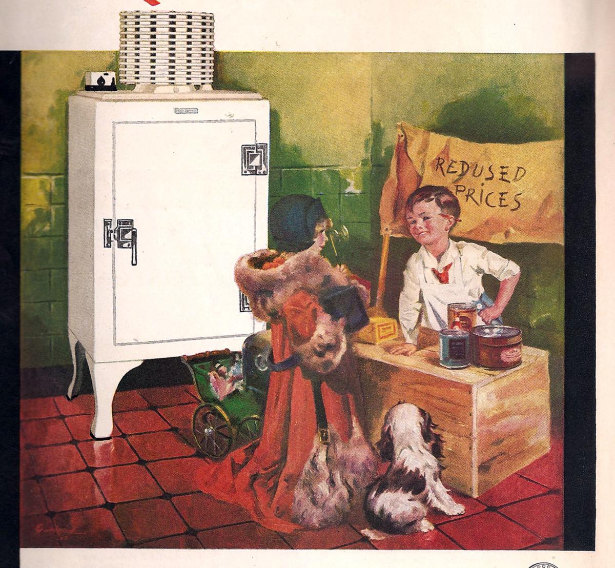 GE All Steel Refrigerator