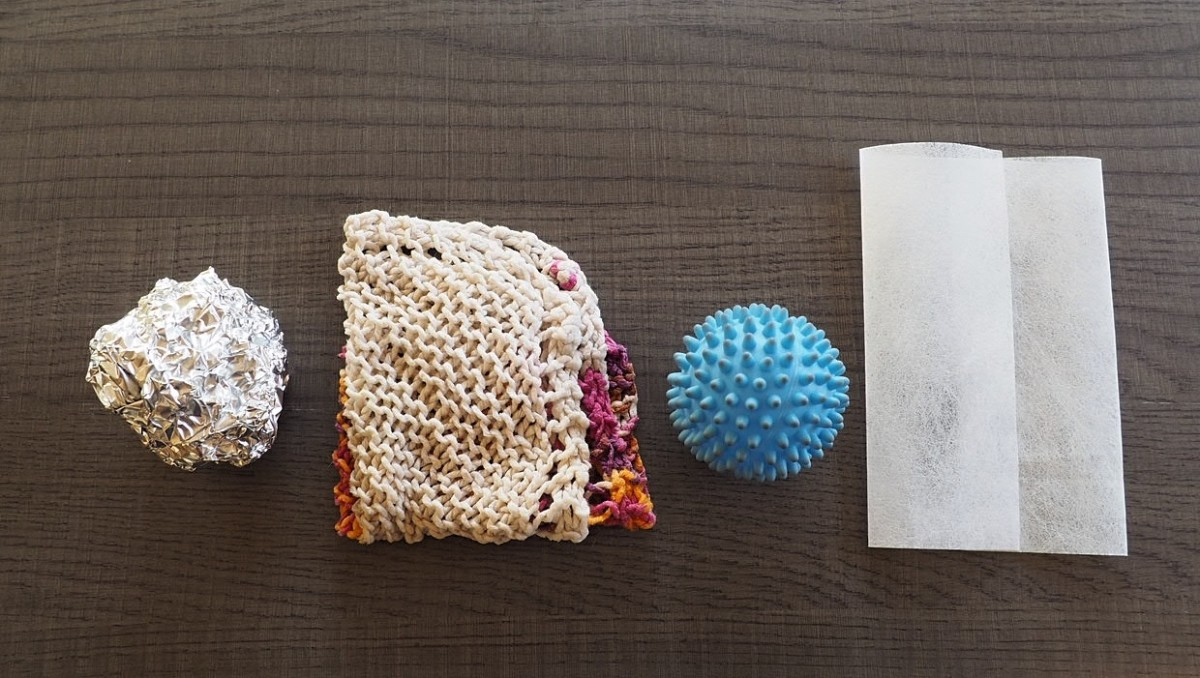 Dryer add-ins are a low-effort way to keep your clothes from getting staticky. From a damp washcloth to a ball of tinfoil, it couldn't be easier.