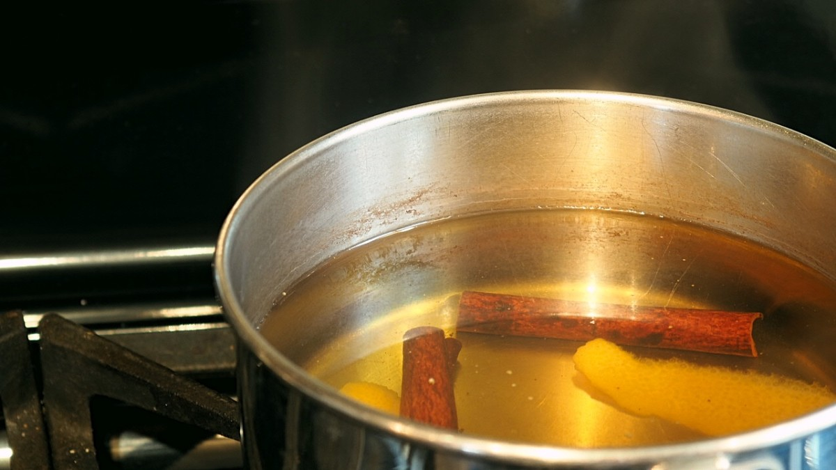 "While it isn't a ""forever fix,"" keeping a pot of boiling water on the stove is an easy way to get rid of static. Adding citrus peels and cinnamon will make your house smell good too!"