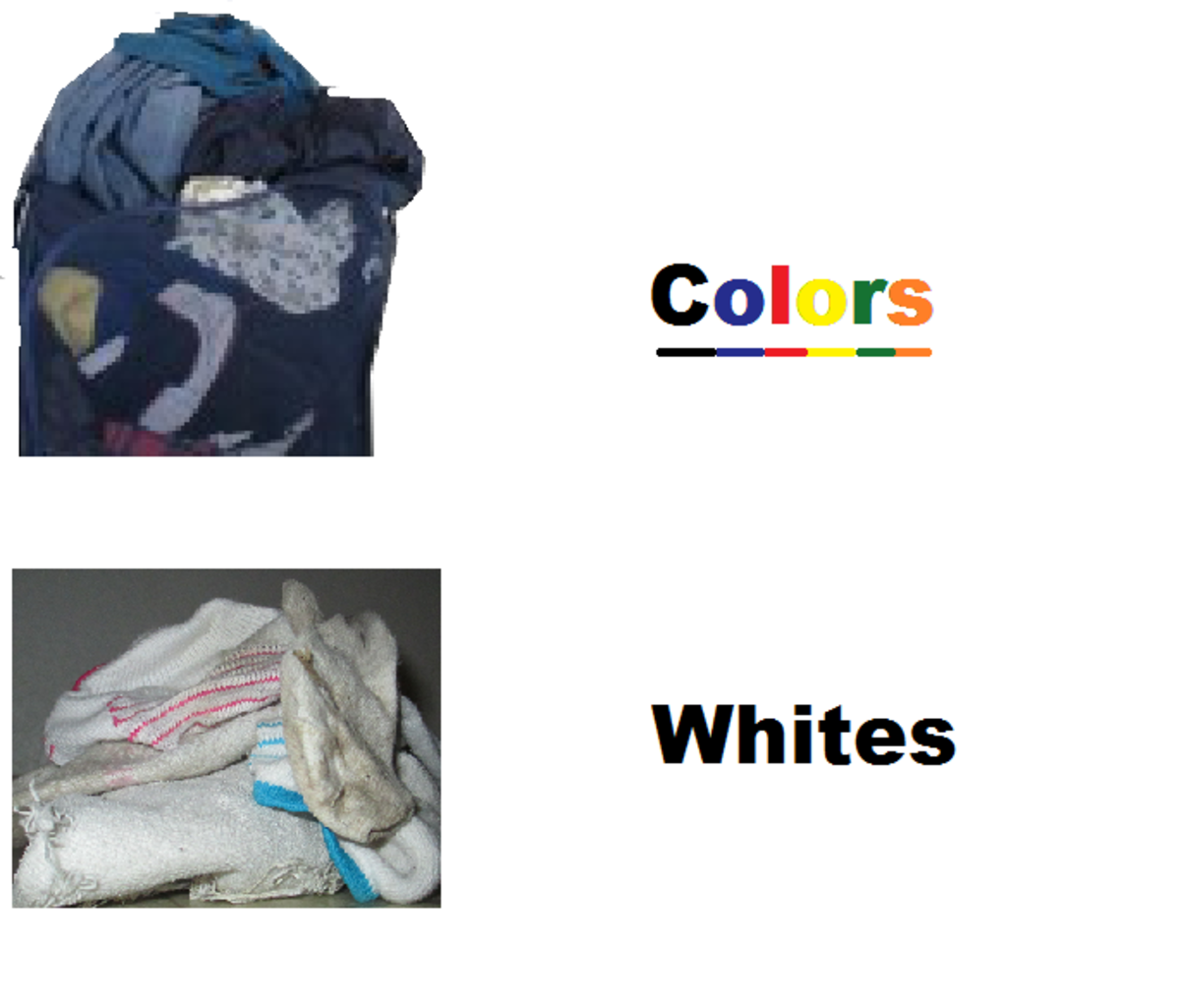 How to wash clothes make whites white and colors bright dengarden - Protect clothes colors washing ...