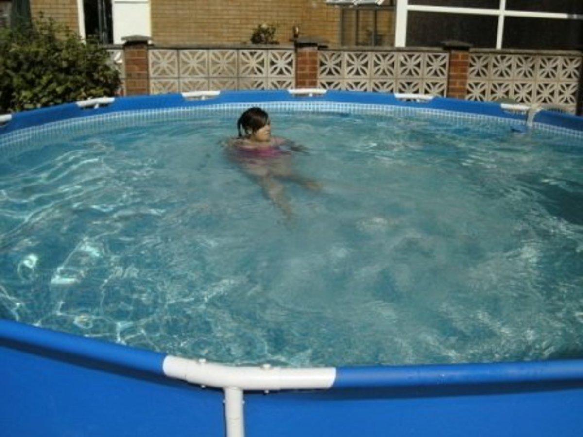 Plenty of room for adults to swim