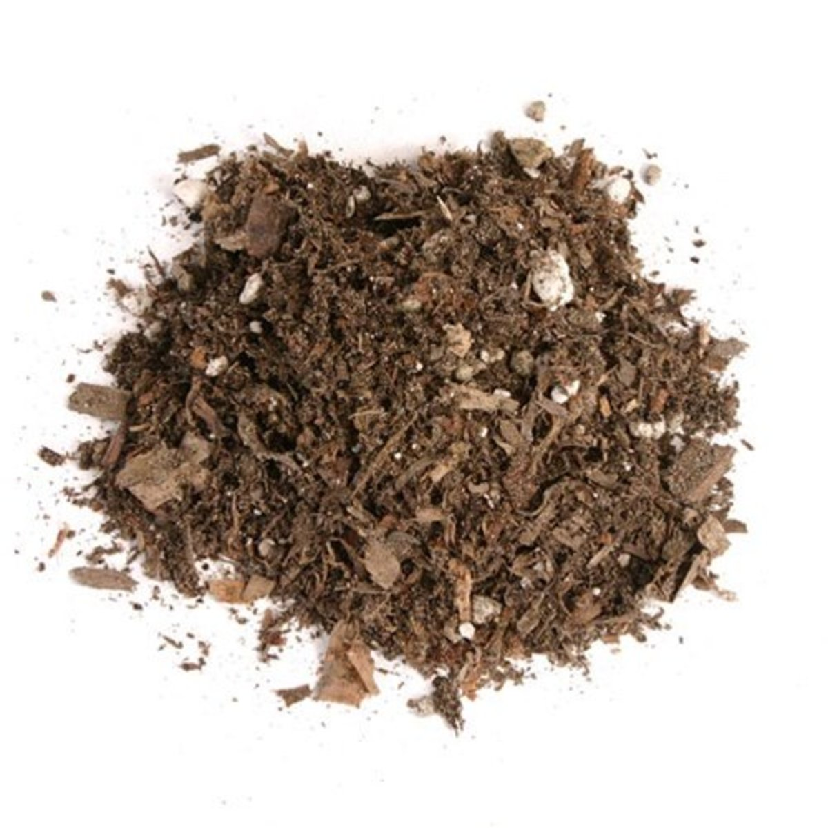 Peat moss. Once wet, peat moss is an amazing bonding agent.