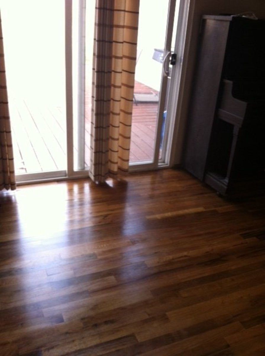 How To Stain A Hardwood Floor In 5 Steps Complete