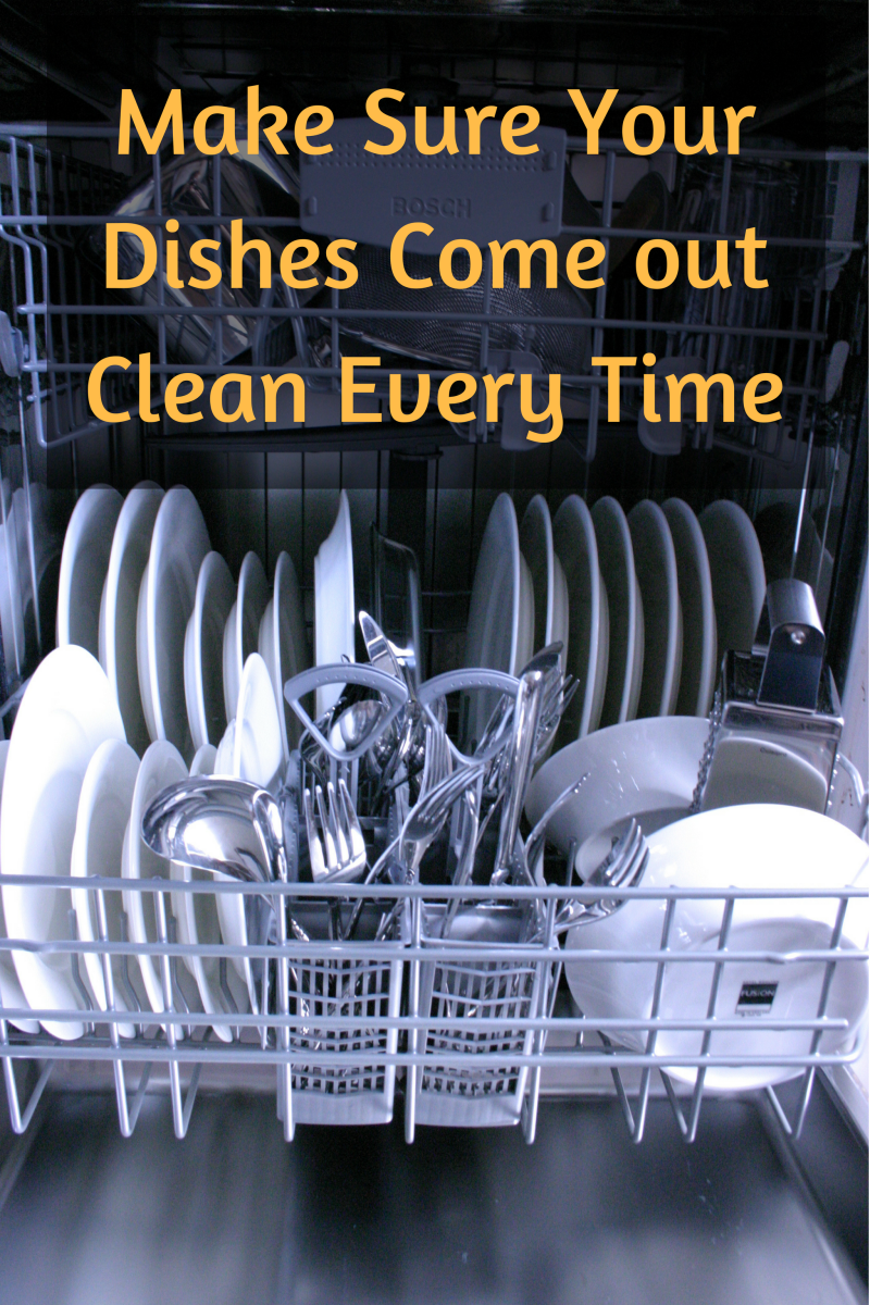A few easy steps will have your dishes come out clean every time.
